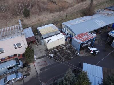 budynki i zepsute samochody Auto Szrot 13